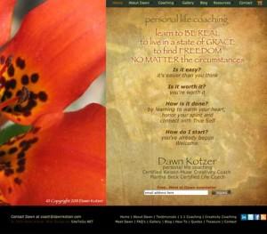 Dawn Kotzer - personal life coaching