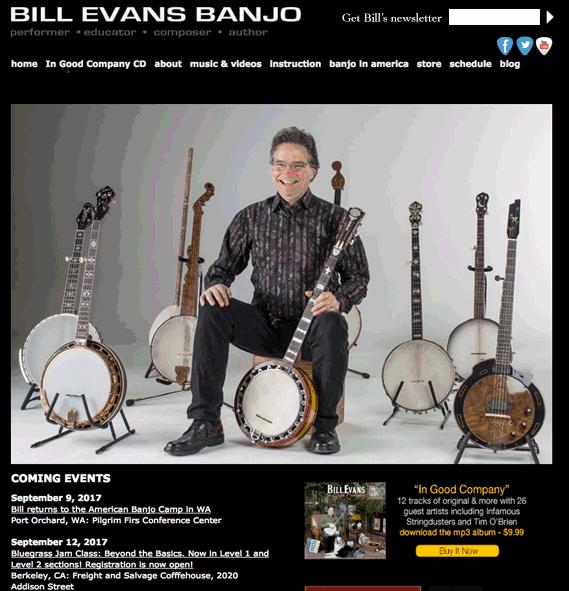 Bill Evans Banjo