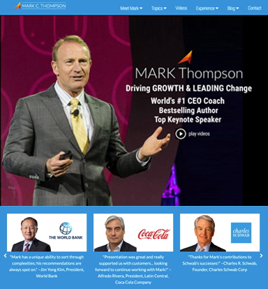 Mark Thompson - Driving Growth and Leading Change, World's #1 CEO Coach, Bestselling Author, Top Keynote Speaker